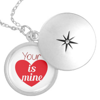 Your heart is mine necklace
