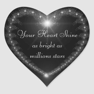 Your heart shine as bright as million stars seal