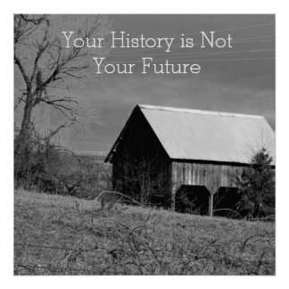 Your History/Your Future Recovery Poster