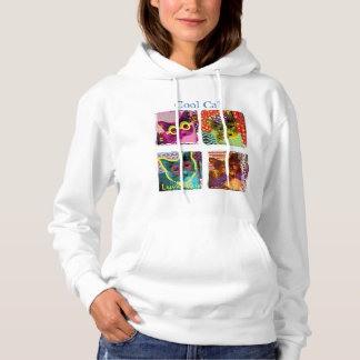 [Your home town] is for Cat Lovers Hoodie