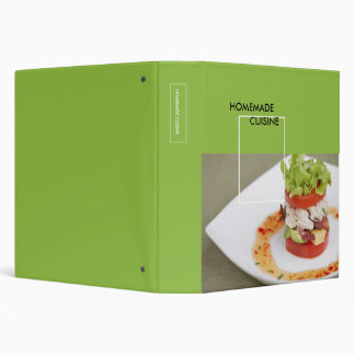 Your Homemade Cuisine Binder
