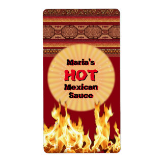 Your Hot Mexican Sauce (customizable)