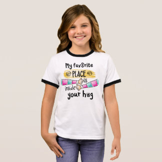 Your Hug My Favorite Place | Ringer Shirt