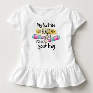 Your Hug My Favorite Place | Ruffle Tee