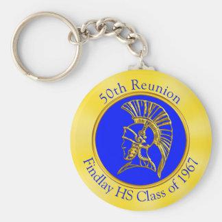 Your Image, Colors, Text on Class Reunion Souvenir Keychain