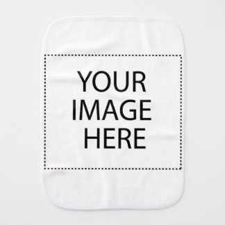 Your Image Here Burp Cloth