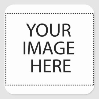 YOUR IMAGE HERE CREATE A CUSTOM SQUARE STICKER