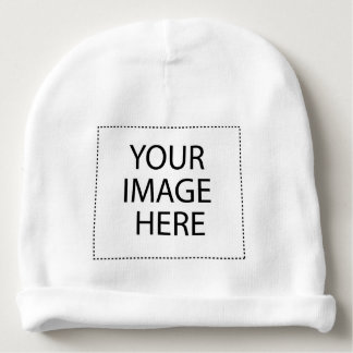 YOUR IMAGE HERE CUSTOMIZABLE BABY BEANIE