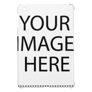 YOUR IMAGE HERE CUSTOMIZABLE PRODUCT iPad MINI COVERS