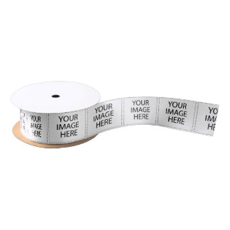 YOUR IMAGE HERE CUSTOMIZABLE SATIN RIBBON