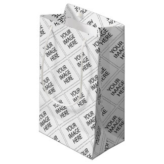 YOUR IMAGE HERE SMALL GIFT BAG