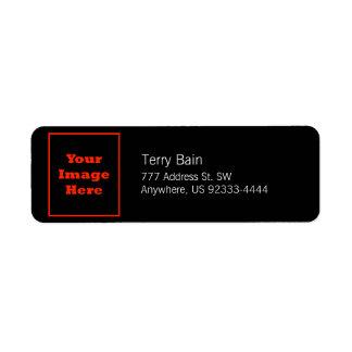 Your Image Here (Vertical) Return Address Label