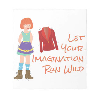 Your Imagination Notepad