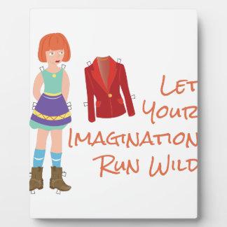Your Imagination Plaque
