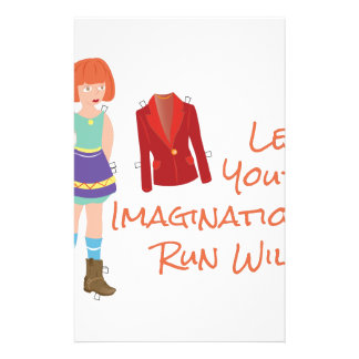 Your Imagination Stationery Paper