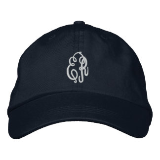 Your Initials-Personalize Monogram Embroidered Hat