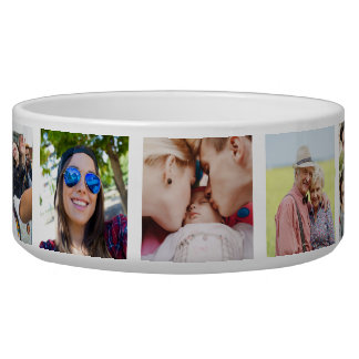 YOUR Instagram Photos custom pet bowl