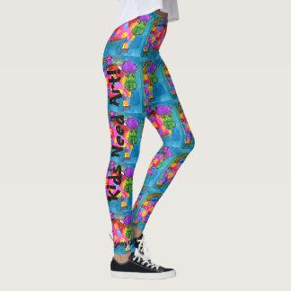 YOUR Kid's an ARTIST Custom Leggings Yoga Pants
