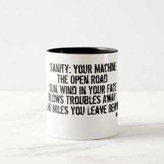 Your Link to Sanity Two-Tone Coffee Mug