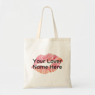Your Lover Name Here Budget Tote