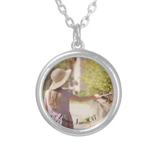 Your memoirs silver plated necklace