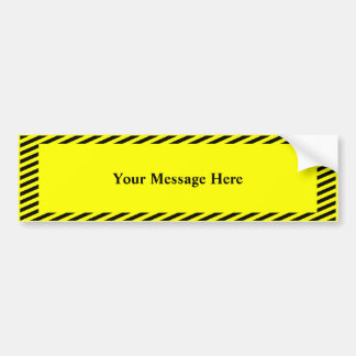 Your message here bumper sticker
