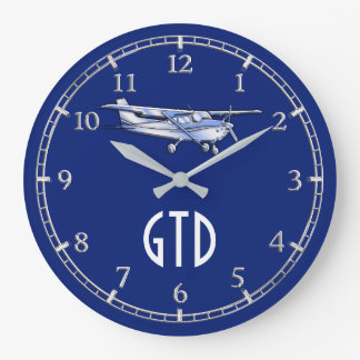 Your Monogram Aircraft Classic Cessna Flying on a Large Clock