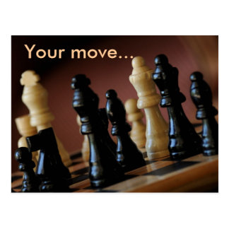Your move postcard