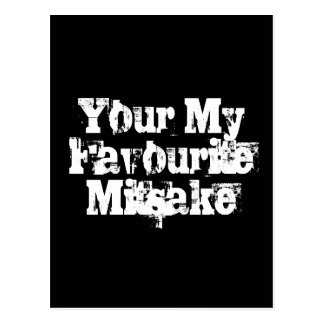 Your My Favourite Mitsake Postcard