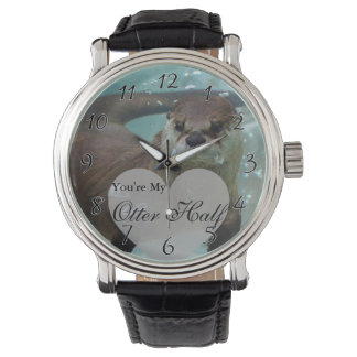 Your my Otter Half Brown River Otter Swimming Watch
