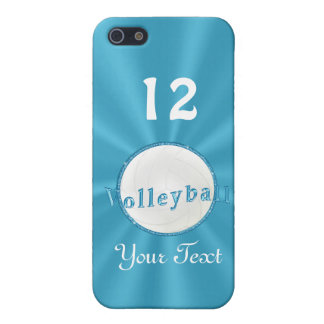 YOUR NAME and NUMBER Volleyball iPhone 5C Cases