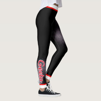 (Your Name) Dot Pattern (on YOUR Col) Leggings