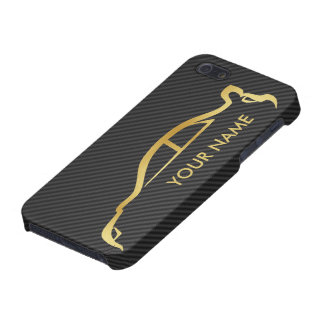 Your Name Gold STI iPhone Case iPhone 5 Cases