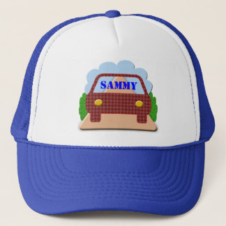 Your name in Car window-hat Trucker Hat