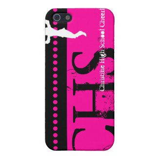 Your Name iPhone 4 Speck Case Cheerleader