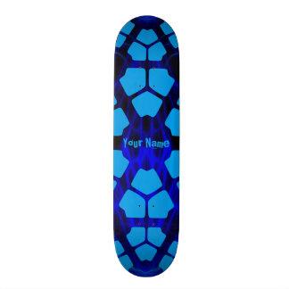 Your Name Modern Blue Skate Board Decks