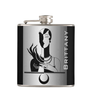 Your Name on Fashion Model Flask