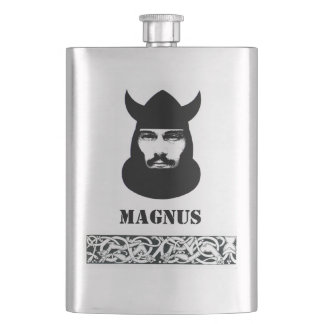 Your Name on this Celtic Viking Flask