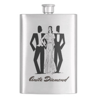 Your Name on this Flapper Flask