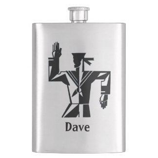 Your Name on this Sailor Flask