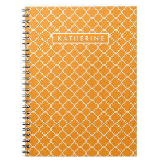 Your Name | Orange Trefoil Notebooks