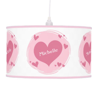 Your Name(s) in a Heart lamps / shades