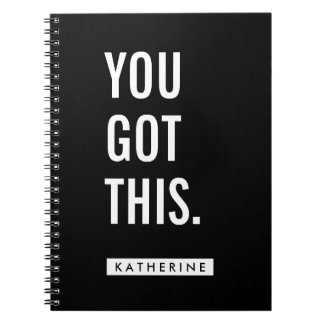 Your Name | You Got This Note Books