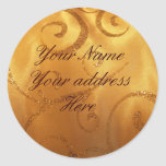 Your  Name Your Address Here lables Stickers