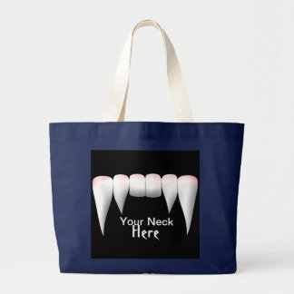 Your neck here fang tote