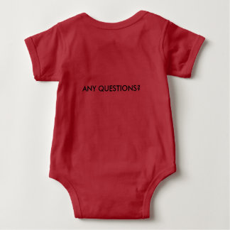 Your New Demanding Newcome Baby Bodysuit