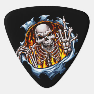 Your Number One Skeleton Guitar Pick