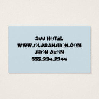 YOUR OLD FASHION, TRY IT! BUSINESS CARD