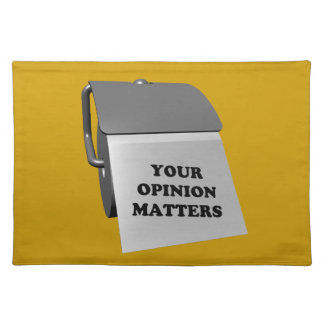 Your Opinion Matters Placemats