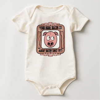 Your Own Bacon Company Baby Bodysuit